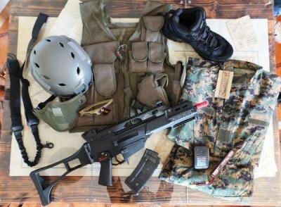 KIT 2-1ST INFANTRY DIVISION